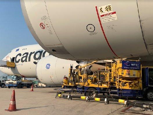 WFS' Hong Kong team refuels 40 freighters per day