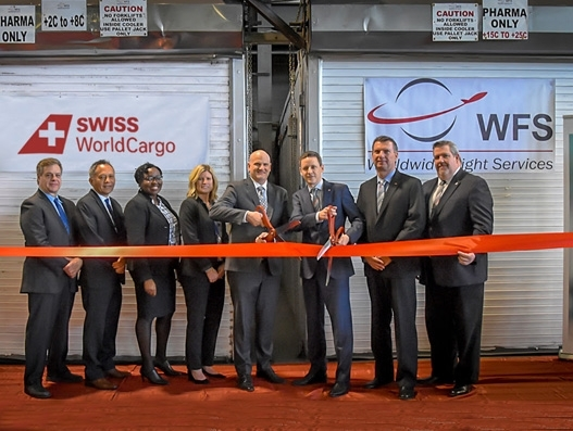 WFS, Swiss WorldCargo launch New York's first GDP-compliant airport facility