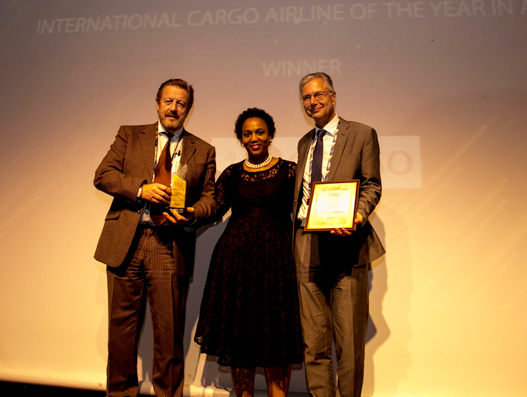 Saudia Cargo wins 'International Cargo Airline of the year in Africa' award