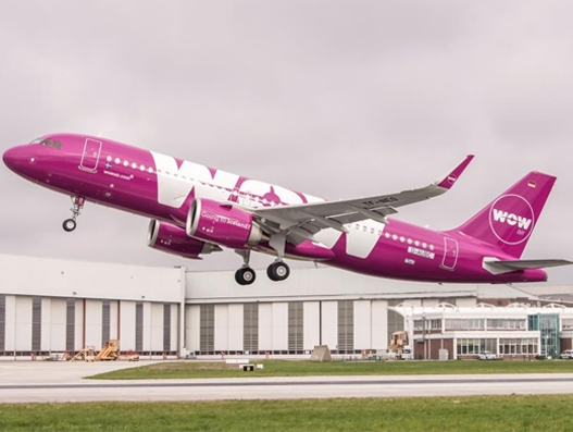 WOW air takes delivery of its first A320neo