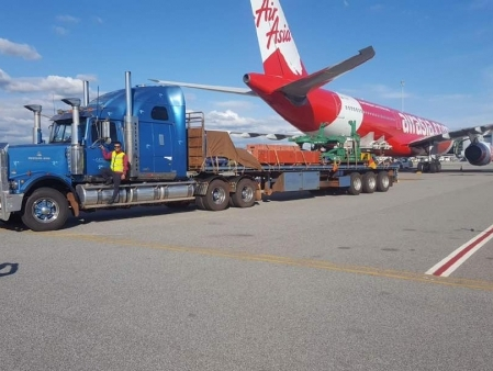 X2 members jointly handle AOG air freight operations for Air Asia X
