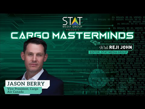Jason Berry of Air Canada Cargo in Cargo Masterminds talks freighters, drones, eCommerce & revenues