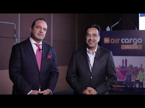Timo Stroh, Head of Global Air Freight and Huned Gandhi, MD, Indian Subcontinent, Dachser