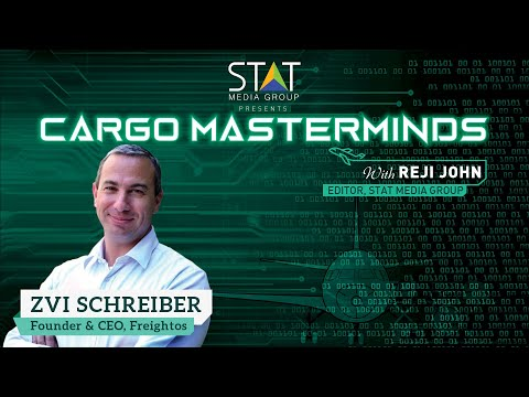 Zvi Schreiber, founder & CEO, Freightos, dives deep into air cargo digitisation in Cargo Masterminds