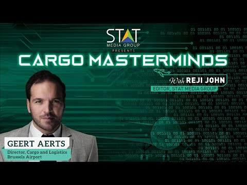 Cargo Masterminds features Geert Aerts, the new director of cargo and logistics at Brussels Airport