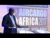 Musa Zwane, Acting CEO, South African Airways, making his keynote address at ACA 2017