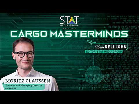 Moritz Claussen of cargo.one talks about digital market place for air freight in Cargo Masterminds