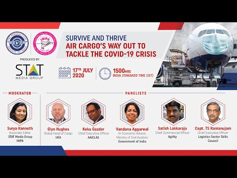 AeSI webinar on 'Survive & Thrive: Air cargo's way out to tackle the Covid-19 crisis'