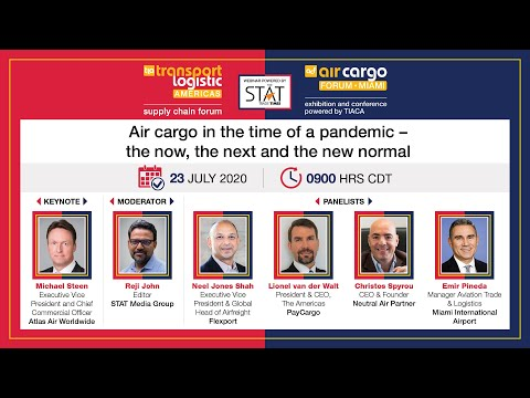 Air cargo in the time of a pandemic – the now, the next and the new normal