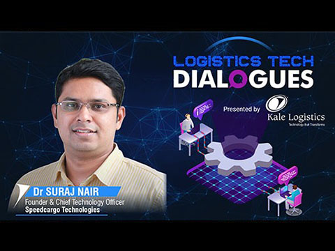 Dr Suraj Nair, Founder and Chief Technology Officer, Speedcargo Technologies