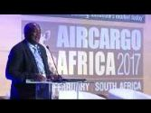 Musa Zwane, CEO (Acting), South African Airways, makes the keynote address at ACA 2017