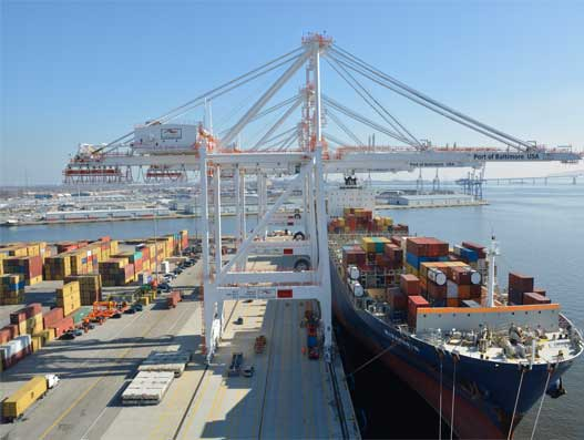 Port of Baltimore prepped for further growth