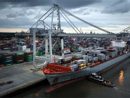 Incredible  efficiencies at work in Georgia Ports