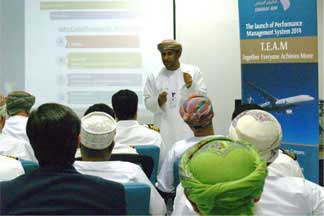 Oman Air unveils New Performance Management System 2014