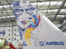 Airbus devises a new method for application of large scale liveries on aircraft
