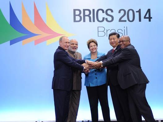 BRICS steer a new world order