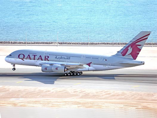 Qatar Airways inaugurates A 350 XWB' induction in service at Doha International Airport