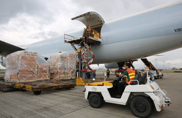 Asia lifts air cargo performance