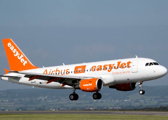 easyJet announces collaboration with Airbus
