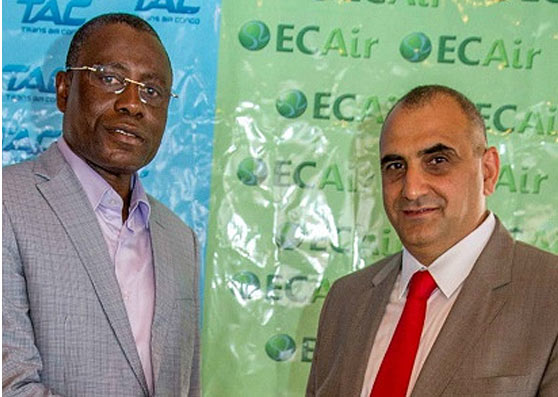 ECAir announces opening of Brazzaville–Beirut service