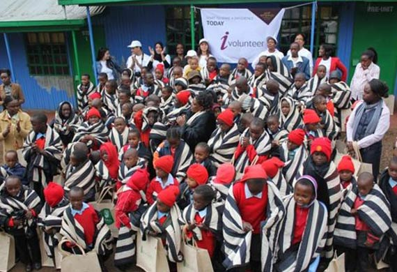 Etihad Airways rolls out community outreach in Kenya