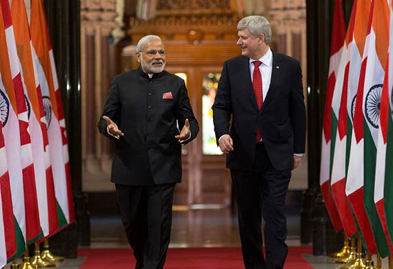 India and Canada sign pact on aviation