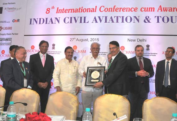 Pawan Hans honoured for best general aviation company