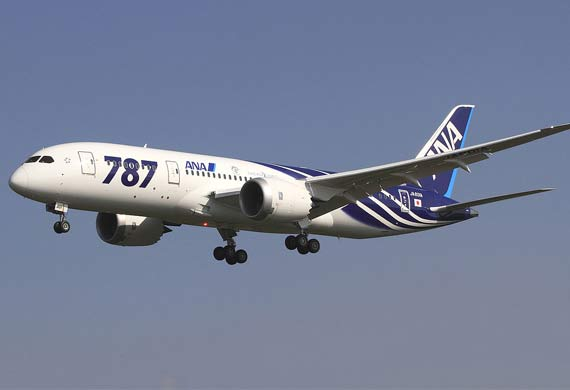 Boeing to partner with All Nippon Airways for 787 customer support