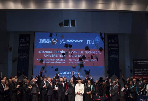 Turkish Airlines, ITU and Boeing master's program delivers first graduates