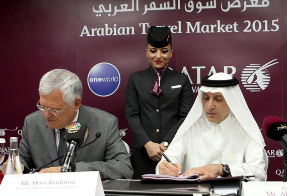 Qatar airways and Royal Air Maroc announce code-share routes