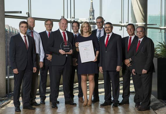 "Hansa Heavy Lift receives the ""DNV GL Excellence – 5 stars"""