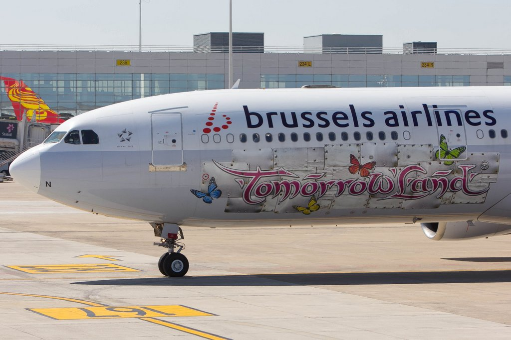Brussels Airlines achieves record seat load factor