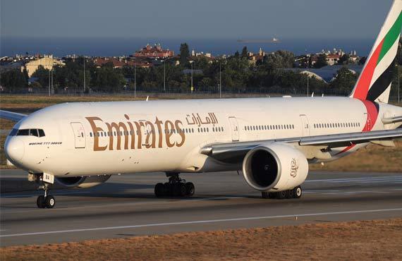 Emirates' Boeing 777 fleet tops 859,000 flights