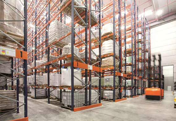 Toyota picks DHL for new racking product