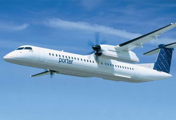 Porter Airlines arriving in Central Florida