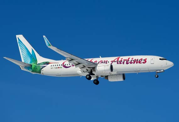 Caribbiean Airlines launches new schedule