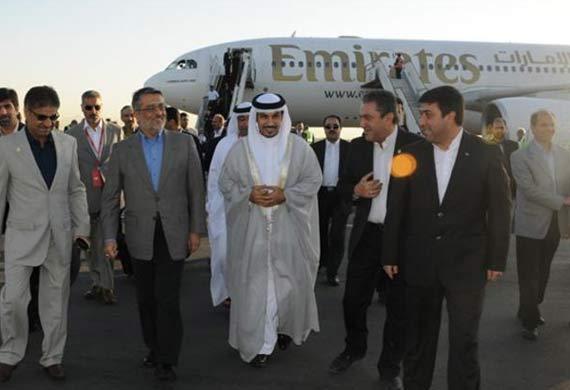 Emirates touches down in Mashhad