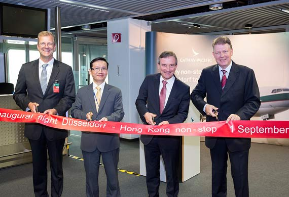 Cathay Pacific launches new service to Düsseldorf