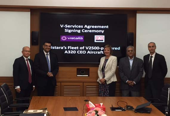 Vistara signs V-Services agreement with Pratt & Whitney