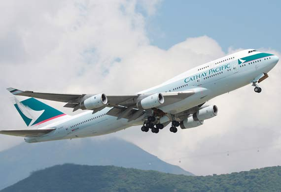 Cathay Pacific releases combined traffic figures for August
