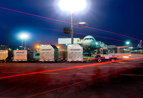 Jettainer manages ULD for WestJet Airlines