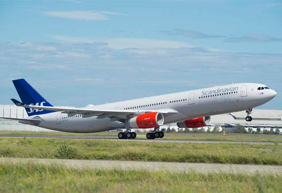 SAS receives new A330-300 version with longer range