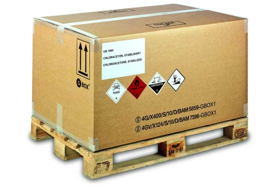 Dangerous goods by air follow the rule