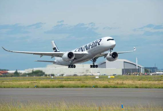 Finnair receives its first Airbus A350 XWB