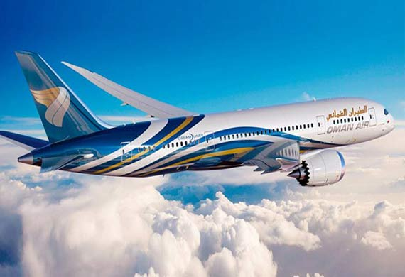 Oman Air celebrates Dreamliner delivery
