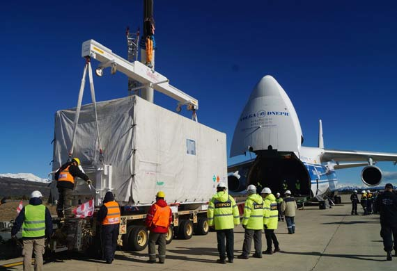 Ruslan International delivers ARSAT-2 satellite to French Guiana