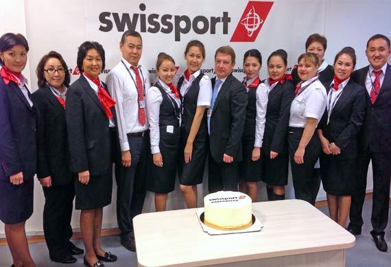 Swissport Kazakhstan starts ground handling operations at TSE