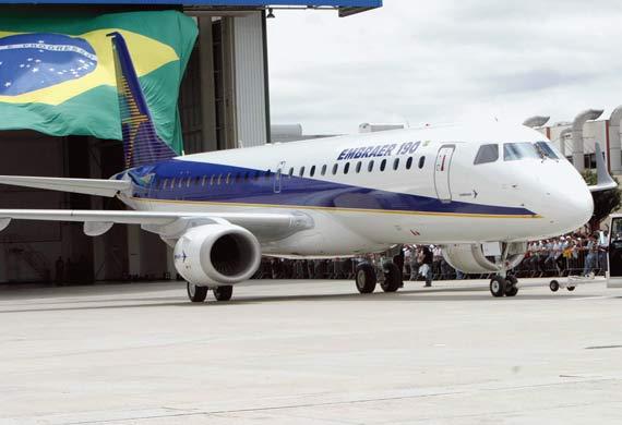 Embraer forecasts a $10bn jet stream