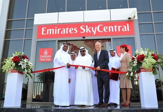 Emirates SkyCargo opens freighter terminal