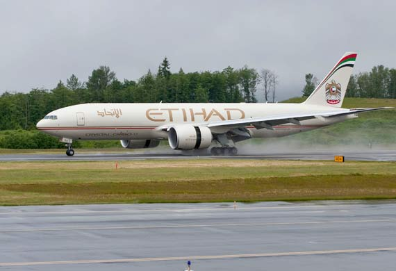 Etihad announces option conversions for two Boeing 777 freighters
